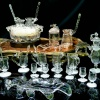 Самоварный эксклюзивный набор в дубовом стиле «Здоровье и долголетие» для кофе по-турецки