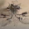 Люстра в дубовом стиле «Здоровье и долголетие» (2 фото)